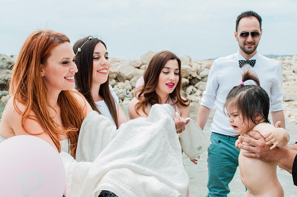 Φωτογράφιση Βάπτισης στην Θάλασσα στην Κεφαλονιά