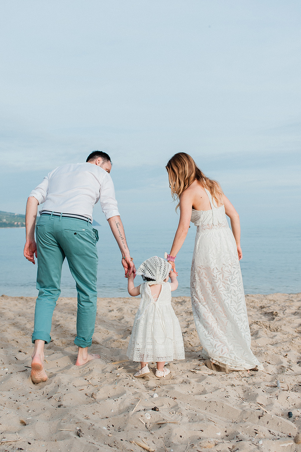 βάπτιση στη θάλασσα, Baby Christenning on the Beach at kefalonia island, Φωτογράφιση Βάπτισης στην Θάλασσα στην Κεφαλονιά