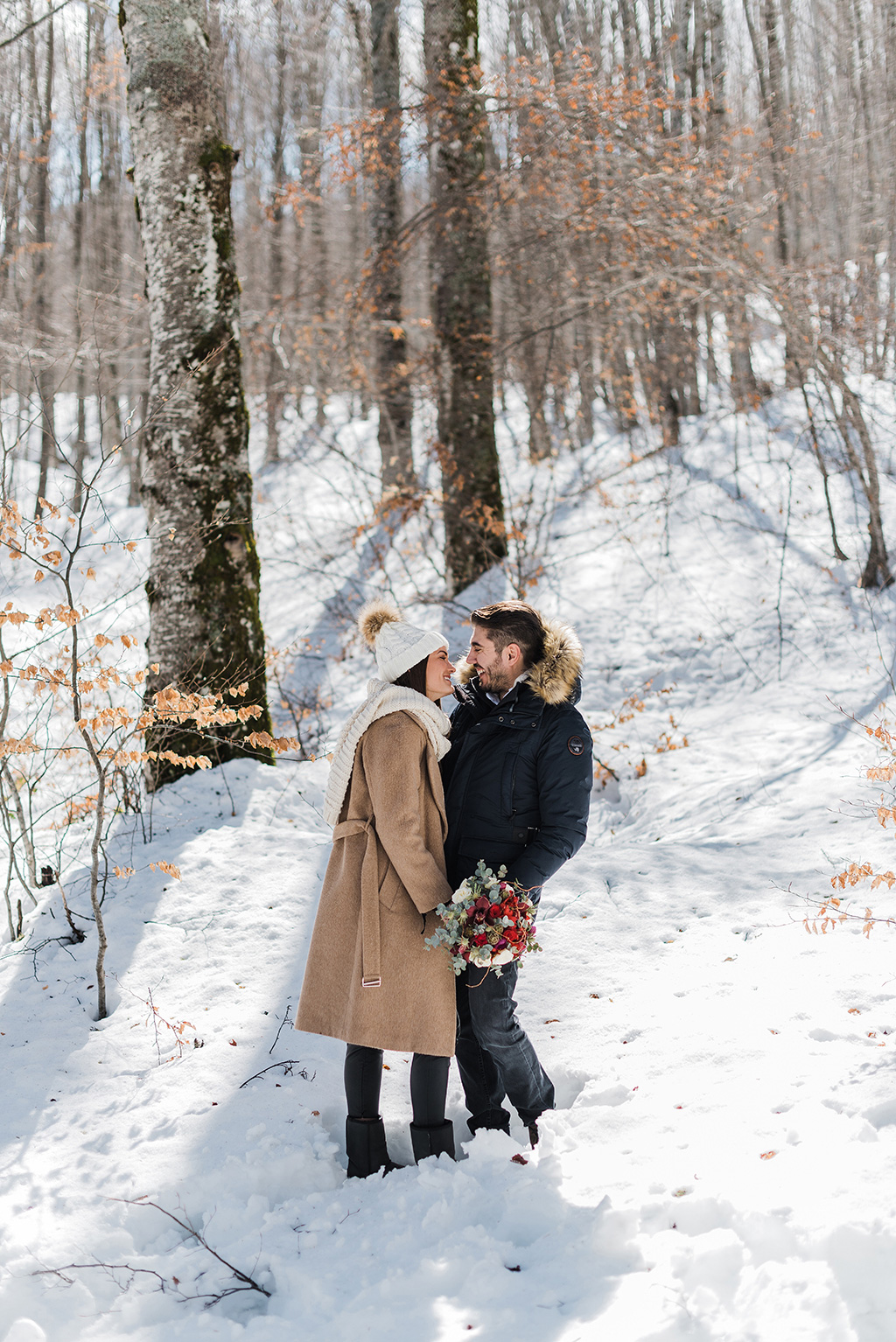 Engagement winter session, George Kostopoulos Fine Art Wedding Photography