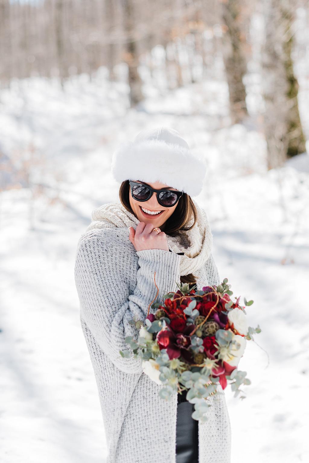 Prewedding φωτογράφιση στα χιόνια, μια υπέροχη εμπειρία για το ζευγάρι, George Kostopoulos Fine Art Wedding Photography