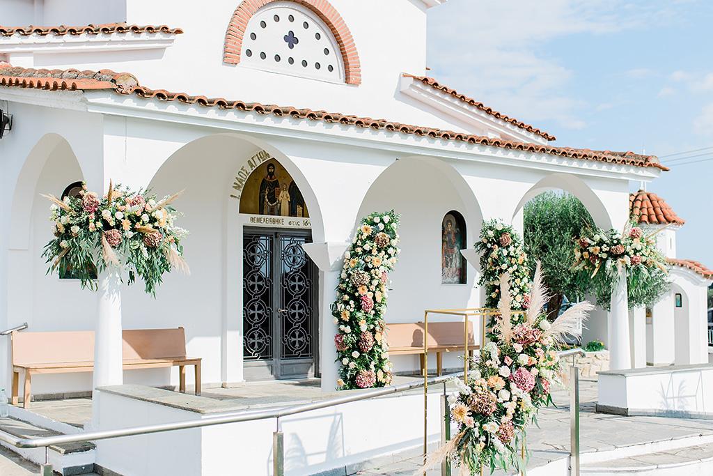 wedding greek church decoration, Φωτογράφος γάμου Χαλκιδική