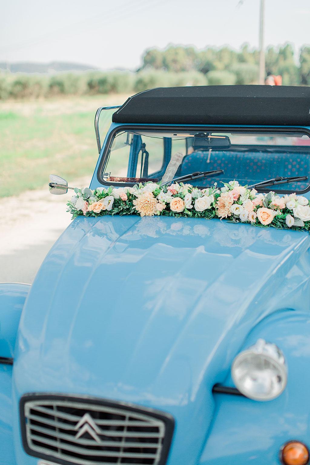 the wedding vintage car, Φωτογράφος γάμου Χαλκιδική