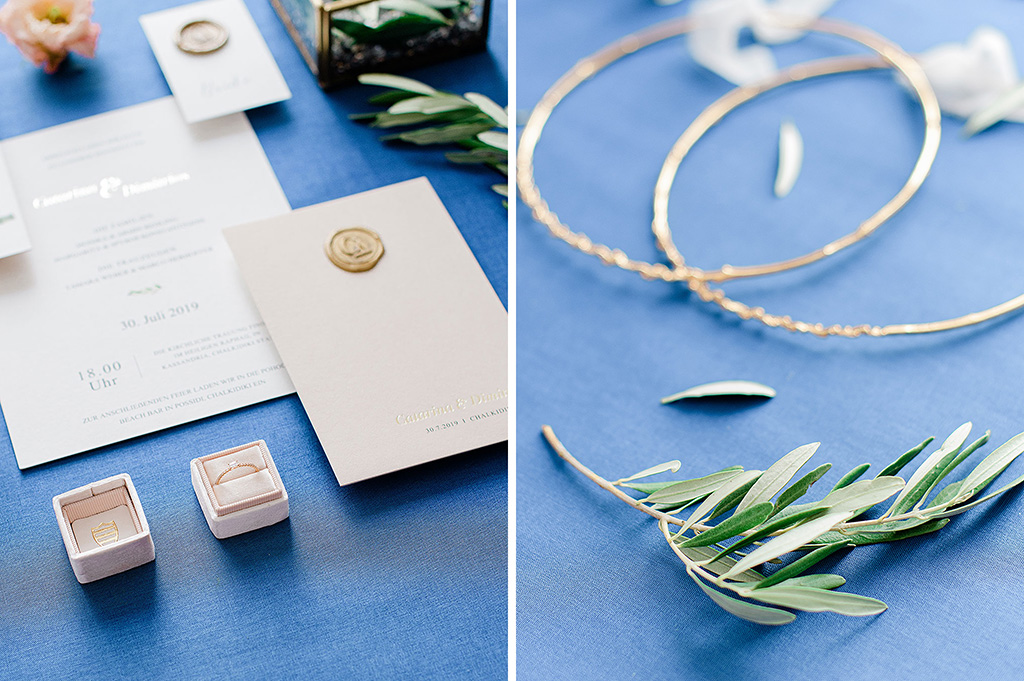 Engagement Ring in box, Wedding Stationery, George Kostopoylos Photography, Olive tree, blue color, Φωτογράφος γάμου Χαλκιδική