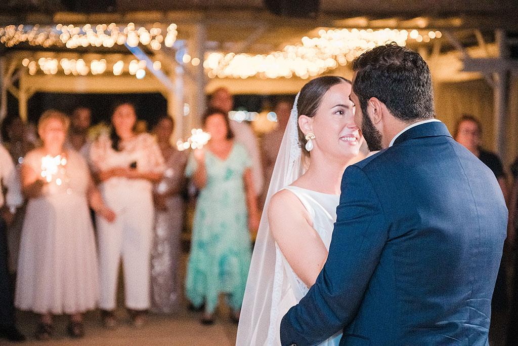 Φωτογράφος γάμου Χαλκιδική, ο πρώτος χορός του ζευγαριού, the first couple's dance